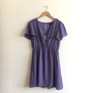 Francesca's Blue Rain Lavender Dress